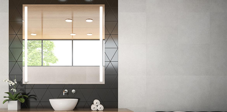 Super Spiegel mit integriertem Licht | Grand Mirrors NA88