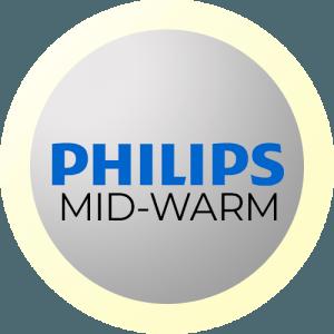 Philips Mittelwarmes Licht (4000K)